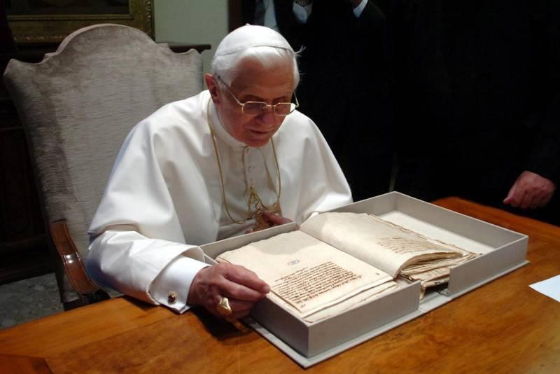 Benoît XVI est l'espoir