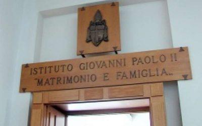 Institut Jean-Paul II: le 'deux poids deux mesures' flagrant