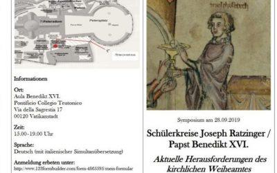 Des nouvelles du Ratzinger Schülerkreis