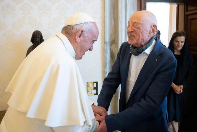 Un autre gourou du Pape: Edgar Morin, et le «nouvel humanisme»