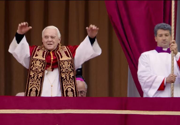 La grossière bande annonce du film «Les deux papes»