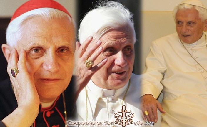 Les trois anneaux de Benoît XVI