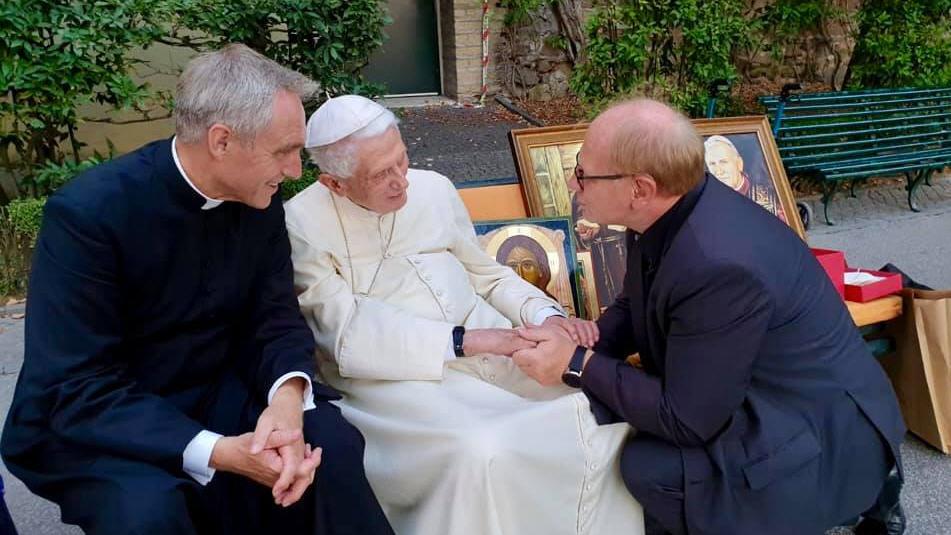 Des polonais chez Benoît XVI