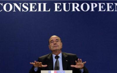 La mort de Chirac vue d'Italie