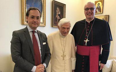 La prière de Benoît XVI pour l'Eglise