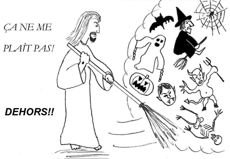Toussaint: Un dessin sur Halloween