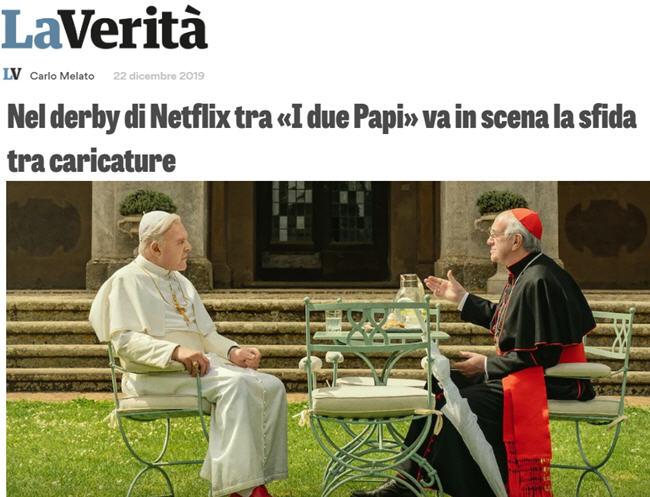 Les Deux Papes: Un coup bas contre Benoît XVI