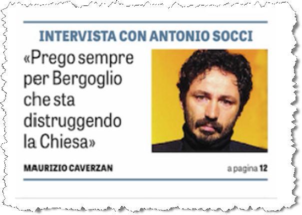 «Je prie pour que Bergoglio renonce à détruire l'Eglise»