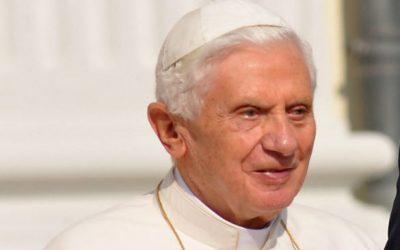 Benoît XVI: De la pilule au «mariage gay», un bouleversement anthropologique. Traduction complète