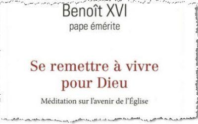 Cadeau de Noël: un texte de Benoît XVI…