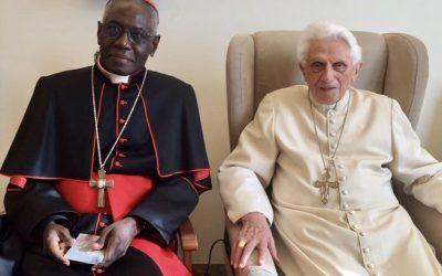 Mise au point du cardinal Sarah (et mea culpa de moi)