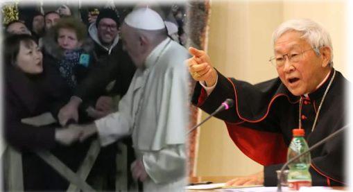 Les «claques» du 31 décembre: où sont les vaticanistes?