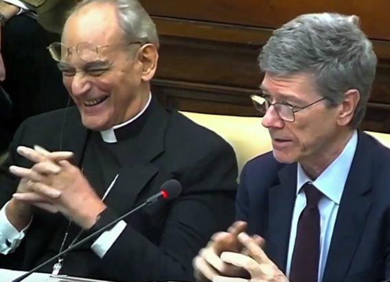 Sorondo, l'homme-lige du Pape, prophète du «nouveau cours»