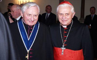 Benoît XVI à Ratisbonne, au chevet de son frère