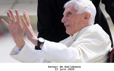 Le pélerinage de Benoît XVI