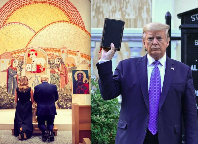 Les évêques américains contre Trump