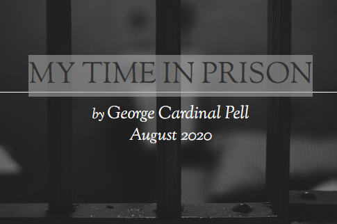 Cardinal Pell: mes prisons