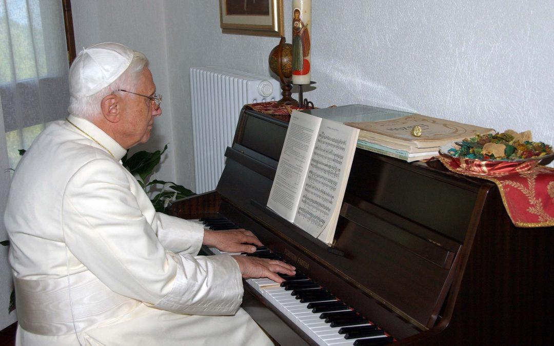 Le Pape musicologue (et musicien)