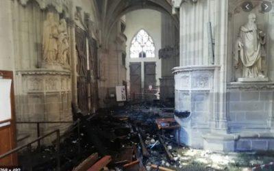 Incendie de la cathédrale de Nantes: des réponses aux questions qui fâchent…