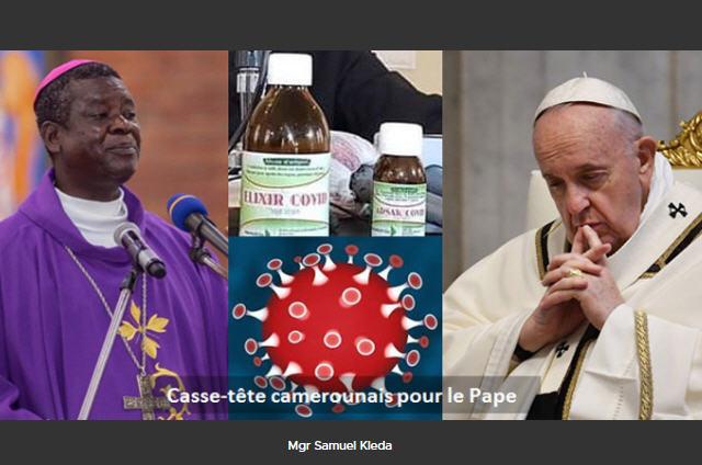 Covid: le remède de l'Archevêque de Douala (Cameroun)