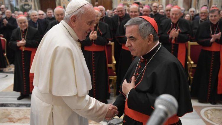 Torpillage du cardinal Becciù: des méthodes de junte sud-américaine