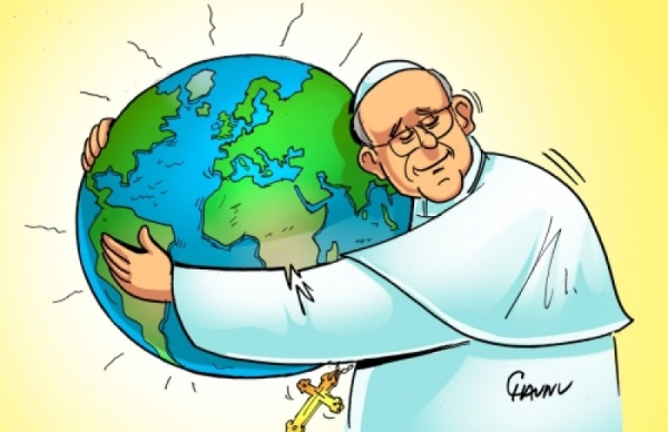 Le Pape, chantre de la «décroissance heureuse»
