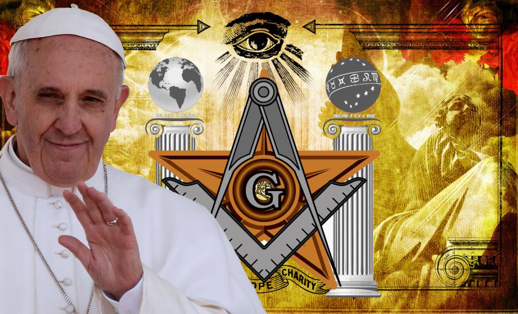 Convergence totale Maçonnerie-Bergoglio