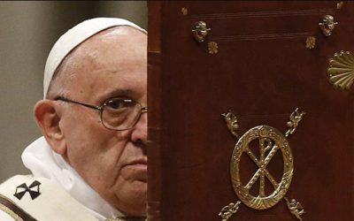 Le «souverain pontife» de la religion mondialiste