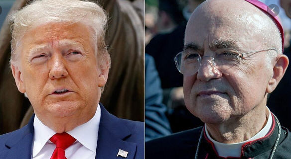 Vigano: lettre ouverte au Président des Etats-Unis
