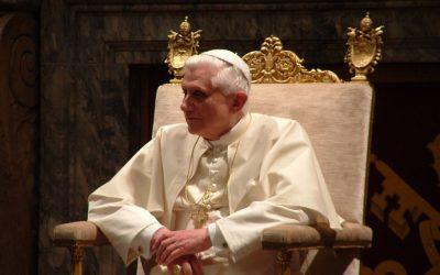 Seul Benoît XVI défendait l'Occident