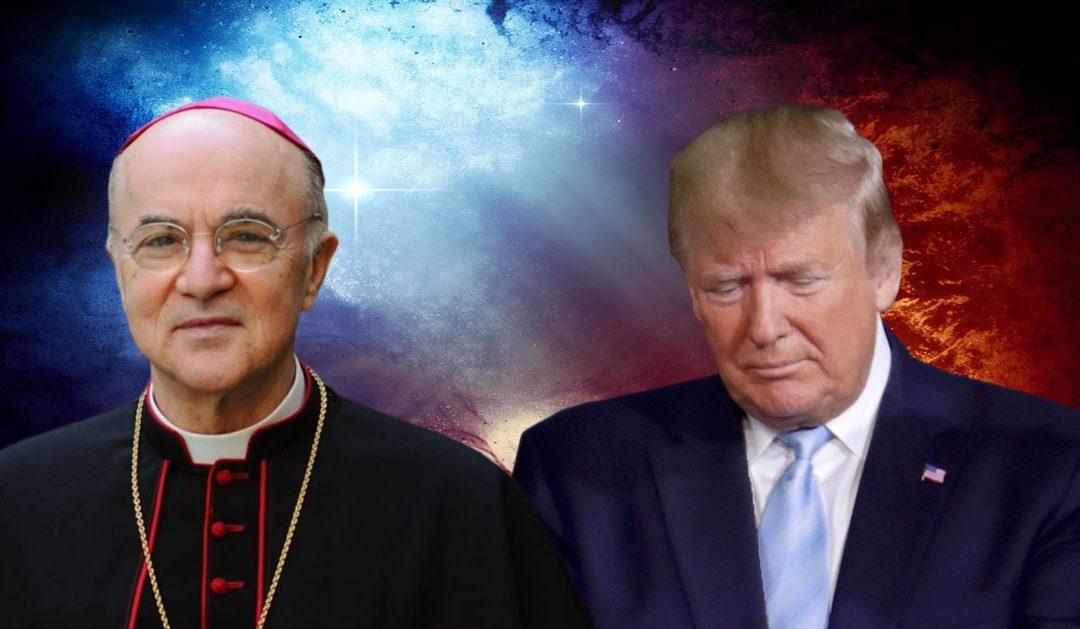 Fraudes électorales: l'appel dramatique de Mgr Vigano aux catholiques américains