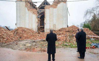 Benoît XVI envoie sa bénédiction à la Croatie frappée par le tremblement de terre
