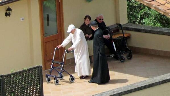 Benoît XVI, premier Noel sans son frère