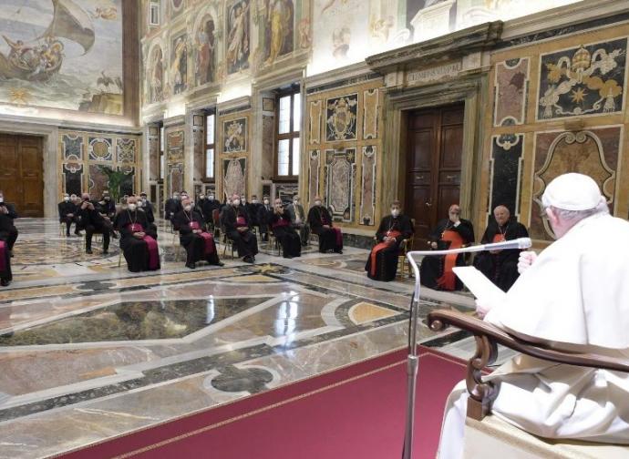 Hors du Concile, point de salut, affirme le Pape. A qui s'adresse-t-il?