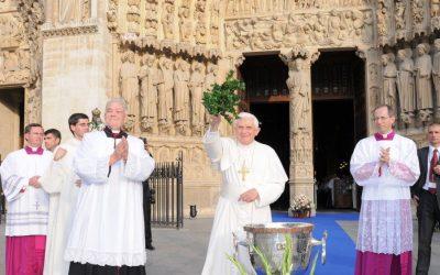 Benoît XVI et Notre-Dame