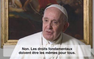 François, 'testimonial' global de l'agenda-coronavirus
