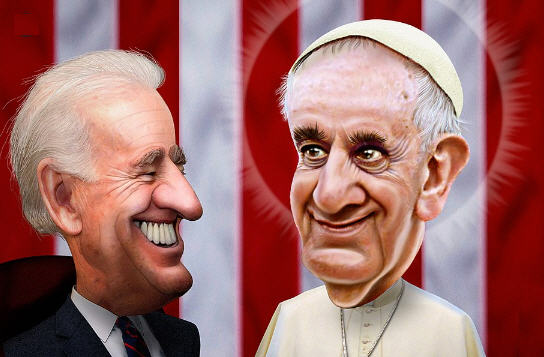 Le pape qui divise et l'Eglise en train de disparaître