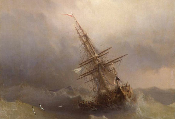 Un navire dans la tempête (et sans canot de sauvetage)