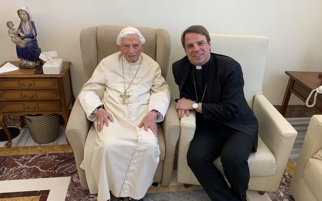 Dernières nouvelles de Benoît XVI