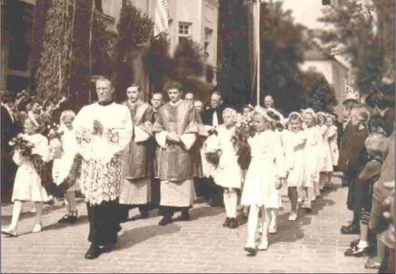 Benoît XVI: ma première messe à Traunstein
