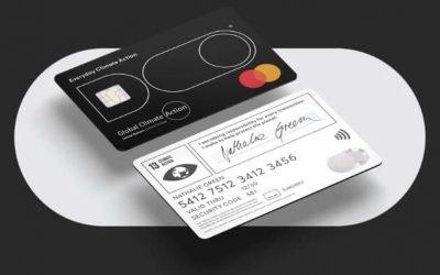 Une carte bancaire «éco-responsable».