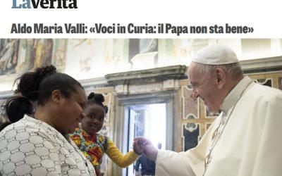Une interview «tous azimuts» d'AM Valli dans «La Verità»