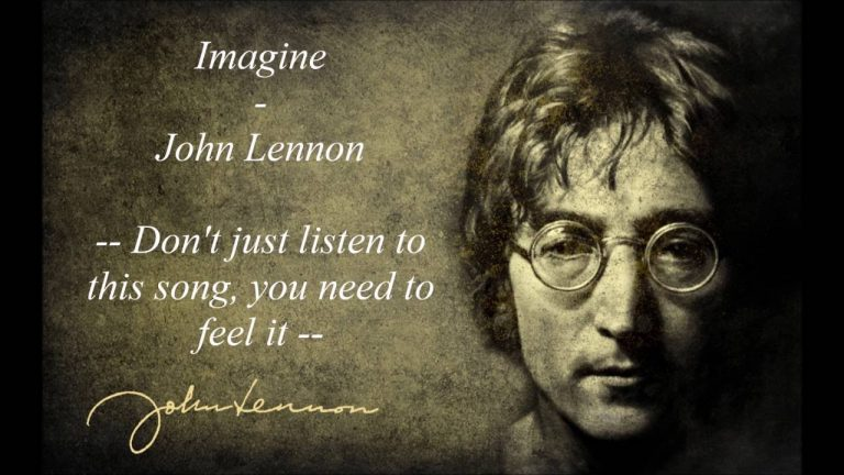 «Imagine there's no heaven»