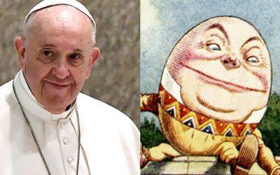 Le magistère de Humpty Dumpty